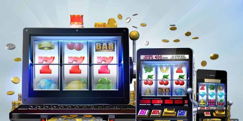 online slot concept on mobile and websites