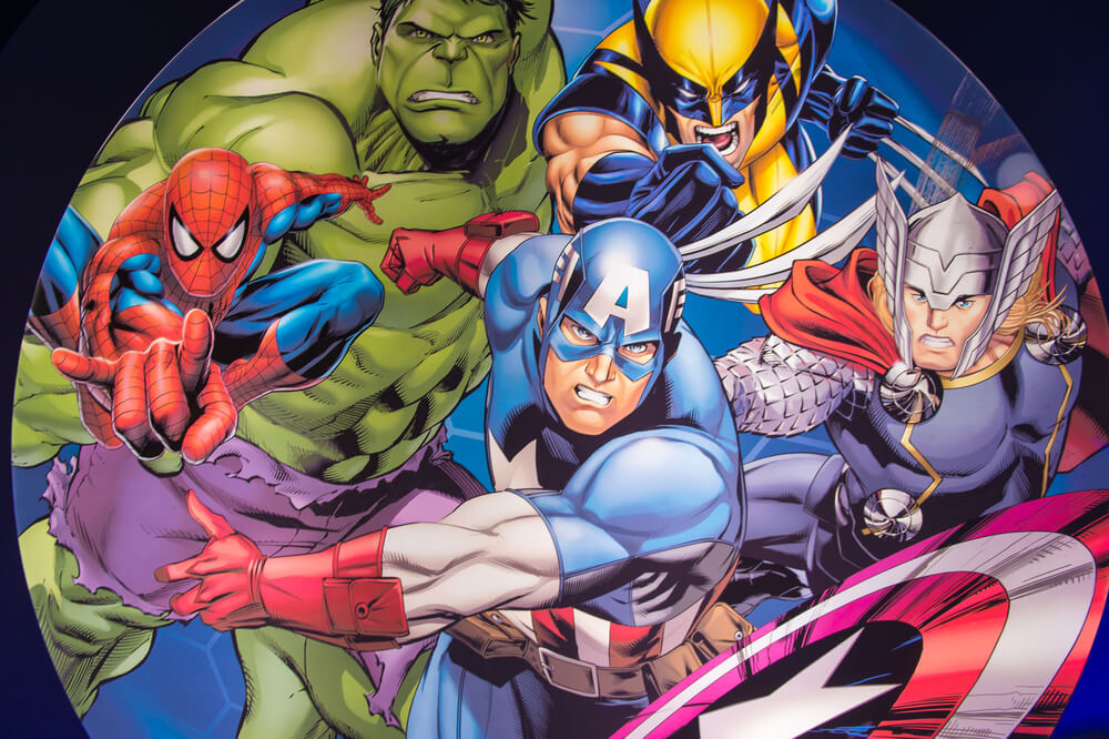marvel image of famous marvel heroes