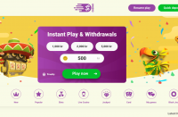 yoyo casino review homepage screenshot