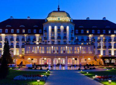 gambling in poland: Grand Hotel Sopot (built 1924-27), iconic luxury pre-war Kasino-Hotel Zoppot.