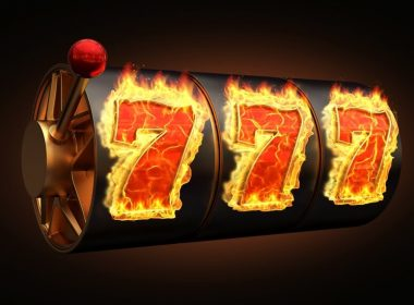 caisno win chicago man indiana: casino hot fire slot machine banner 3d render 3d rendering illustration